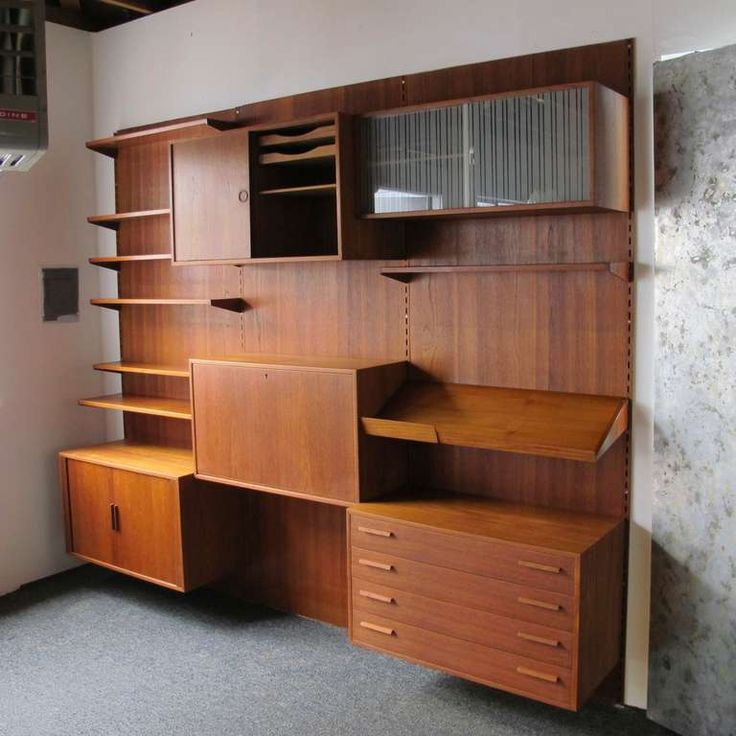 view this item and discover similar shelves for sale at kai kristiansen wall shelf system in teak by fm feldballe