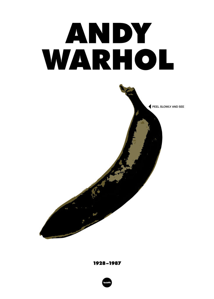 Rotten Andy Warhol postere