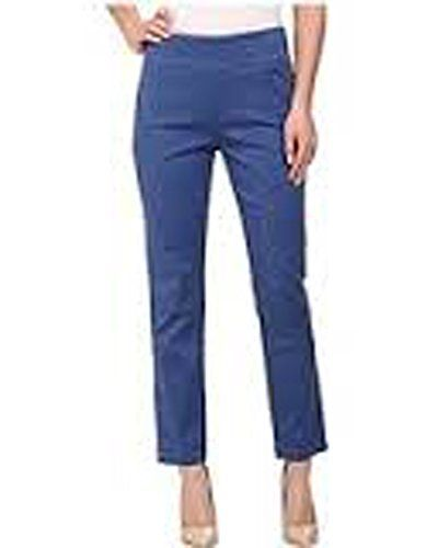 Miraclebody Jeans Judy Pull-on Ankle Sateen Womens Casual Pants (Rain Blue, 12) -- You can get more details by clicking on the image.