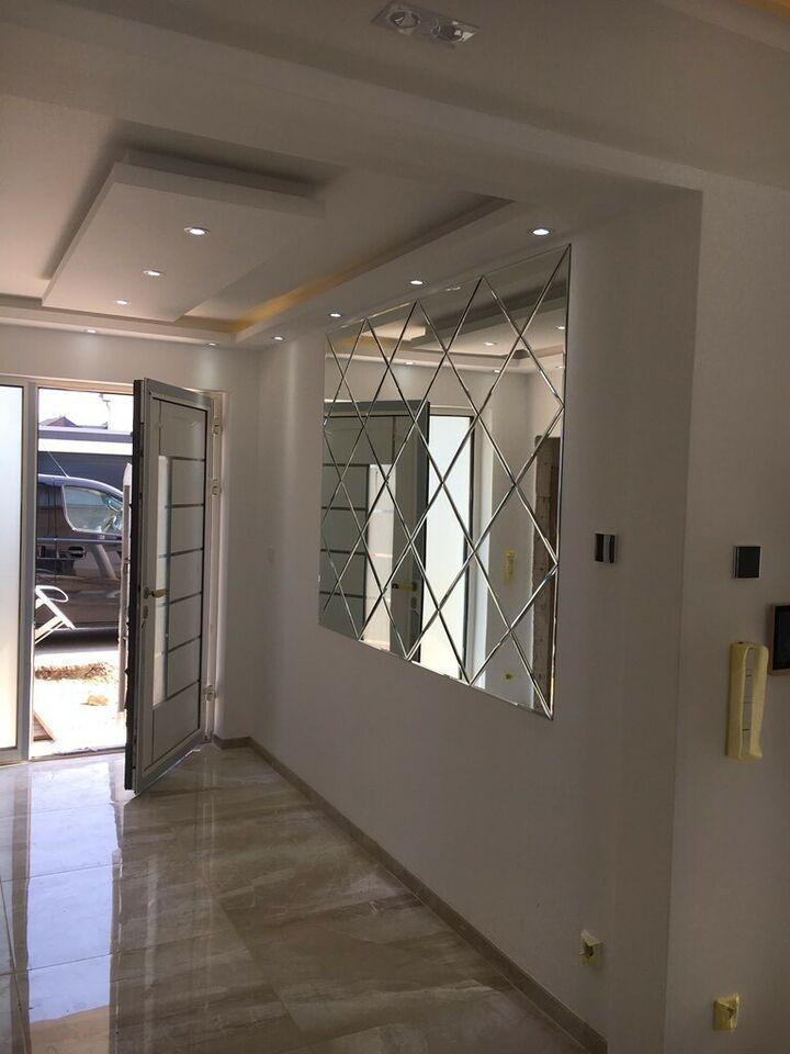 Spiegelfliesen mit Facette Spiegel Deko Baklava Ayna in