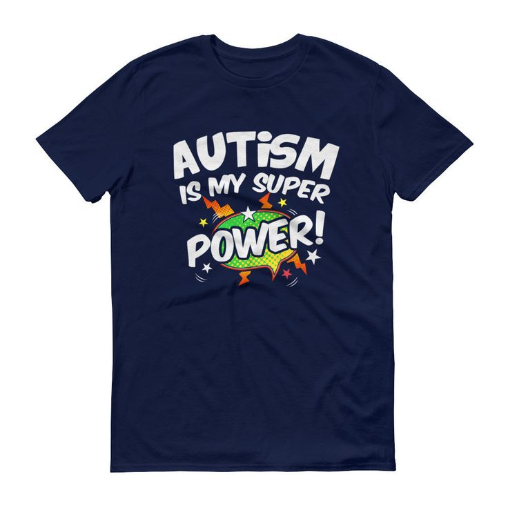 Men's Autism is my Superpower - Autism Awareness Products T-Shirt