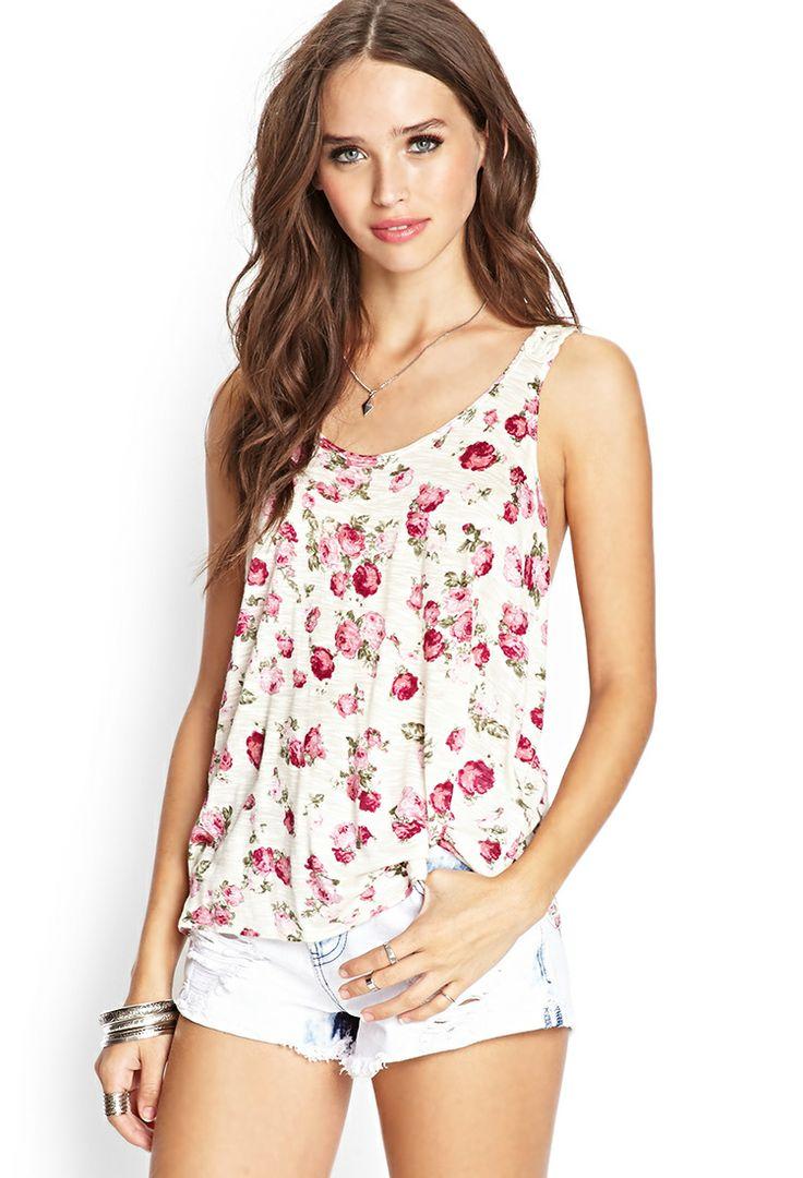 Floral Fields Crochet Tank | FOREVER21 #SummerForever #Crochet