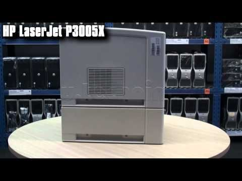 Velkokapacitní tiskárna HP LaserJet P3005x s duplexem, přídavným zásobníkem, tonerem a kabelem