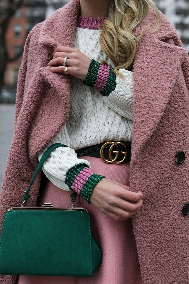 the pink green and gucci
