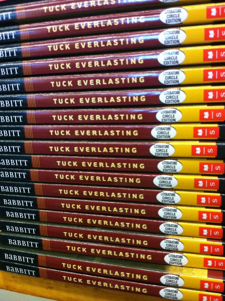 student essays tuck everlasting Winifred winnie foster from tuck everlasting by natalie babbitt is a sheltered  but curious pre-teen who wants to explore the world outside the gates of her.