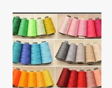 40/2 high-speed nici poliestrowych nici do szycia na stożku hurtownie 55 kolory, to cena 4.77 dolarów jest jednym kolor
