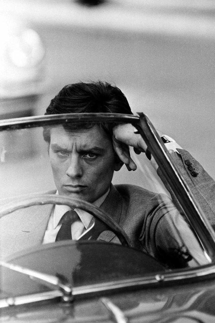 "#AlainDelon in ""Mélodie en sous sol"" by #HenriVerneuil 1963 -- #BlackTie"