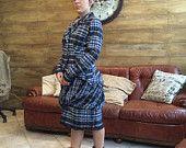 giacca e gonna a palloncino in tessuto scozzese