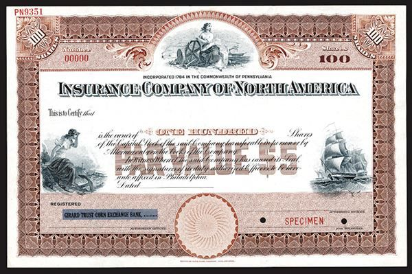 The Trade Archive Stock Certificates Stocks And Shares Vintage