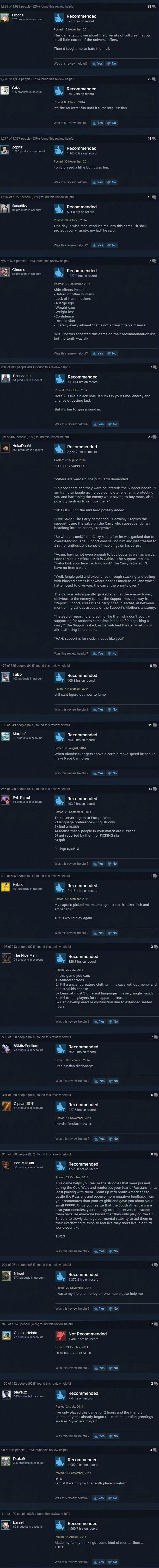 dota 2 steam user reviews - DotaCaps - Funny Dota Images