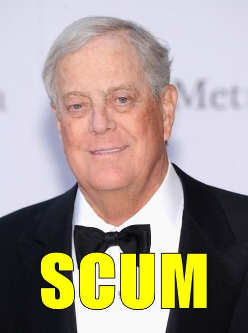 Koch - The reason that you target somebody's voting rights, is it makes it easier to take away the rest of their rights. -  http://www.rollingstone.com/politics/news/three-new-ways-the-koch-brothers-are-screwing-america-20140604