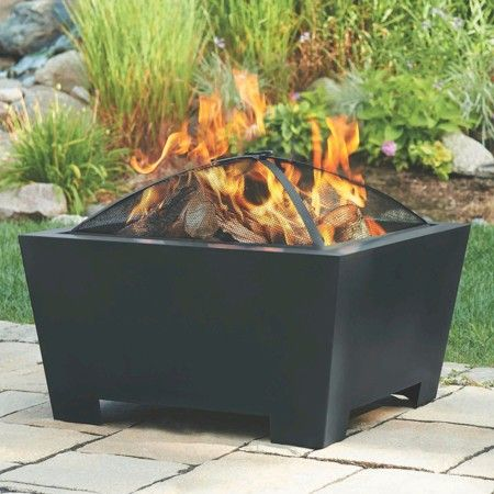 Threshold Deep Square Firebowl