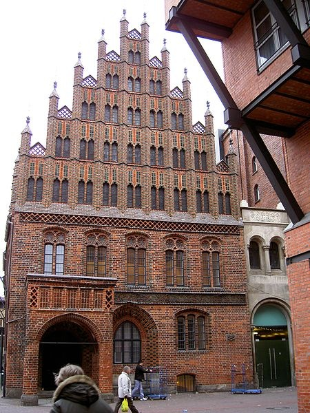 Hannover - Altstadt Altes Rathaus (Old Town Hall) near ...