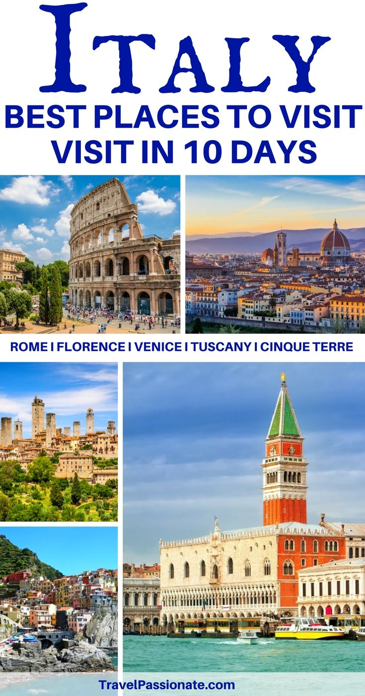 Planning A Trip To Italy Check Out This 10 Days Itinerary Things To Do And See In Italy In 10 Days This Italy Itinerary Includes Rome Florence Tuscany