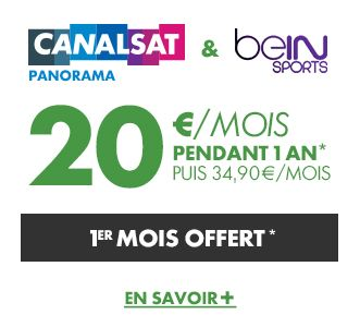 Offre CANAL & beIN SPORTS - Les Offres Canal