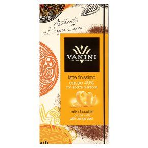 Vanini Milk Chocolate 49% with Orange Peel