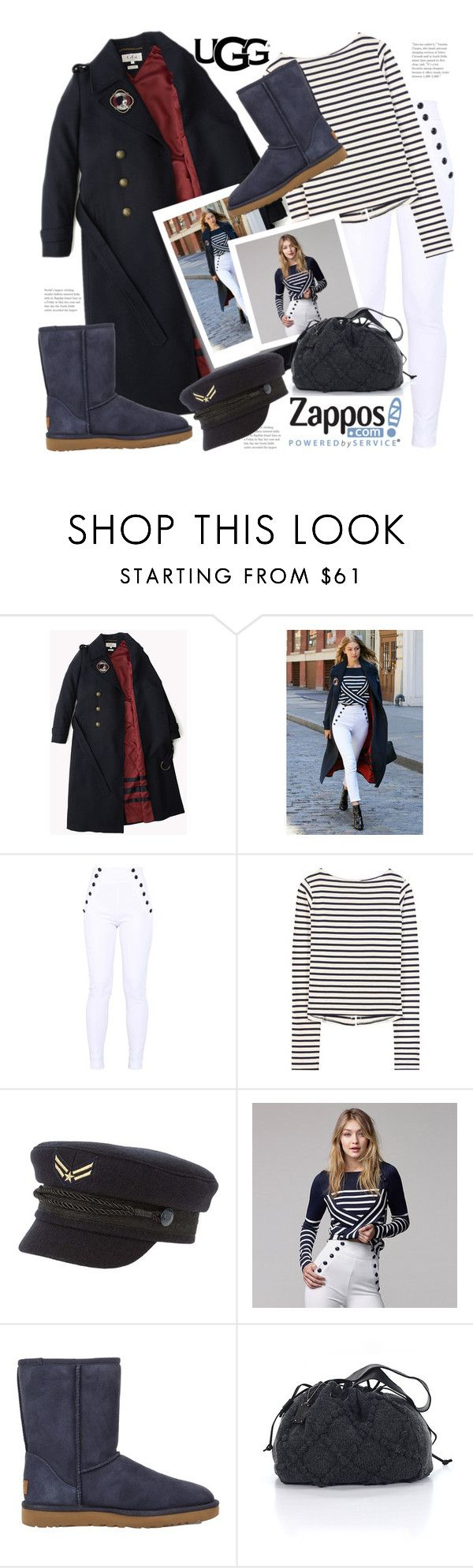 """""""The Icon Perfected:  UGG Classic 11 competition entry"""" by hattie4palmerstone ❤ liked on Polyvore featuring Post-It, Jacquemus, UGG Australia, UGG and ugg"""