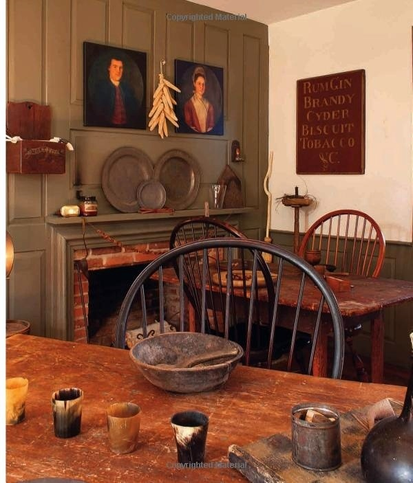 Colonial Tavern Room American Country Colonial Decor Early American