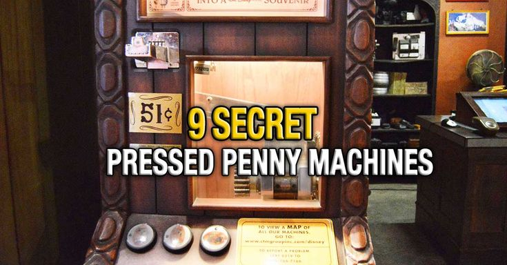 Many Disney fanatics have learned that pressed pennies make a great souvenir of their vacations to the Disney World Resort. At a cost of only 51 cents per pressed penny, it is an economical souvenir. The various buttons and cranks that the machines have make it a fun interactive experience as well. (I'm still partial…