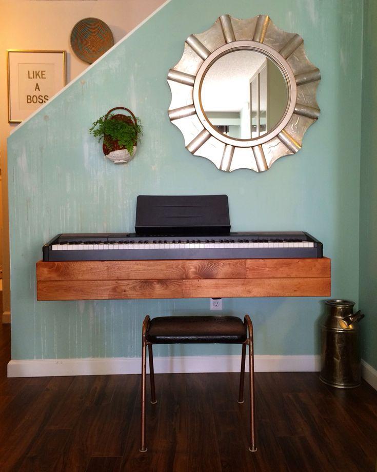 Keyboard stand decor