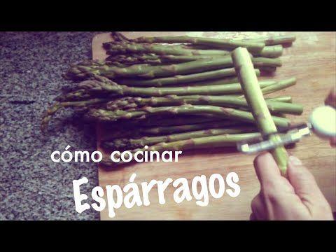 Cómo cocinar Espárragos y que no queden duros (truco) | Cocinar en casa es facilisimo.com