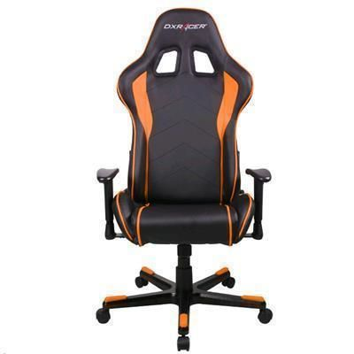 Buy the DXRacer Formula Series OH/FE08/NO Orange & Black PU Leather Gaming... (OH/FE08/NO) online at PBTech.co.nz
