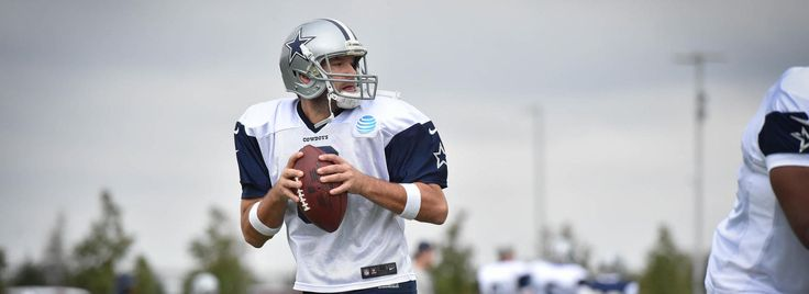 Back At Practice, Tony Romo Excelling As Cowboys' Scout Team QB | Dallas Cowboys