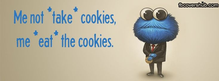 Me not take cookies Fb Cover