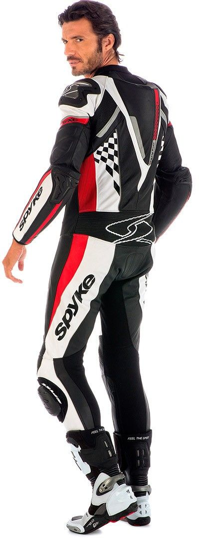 Spyke 4RACE RAC Leather Motorcycle Suits for Men