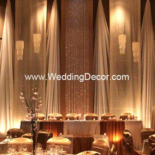 Wedding Backdrop - Champagne & Ivory by WeddingDecor