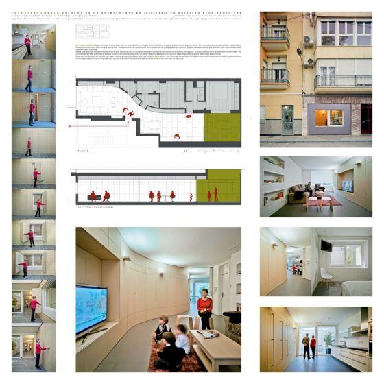 Casa Clara y Mario: reforma de apartamento en una planta baja