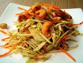 Resep Masakan: Salad Mangga Ala Thailand | Sangat segar untuk dinikmati sebagai makanan pembuka