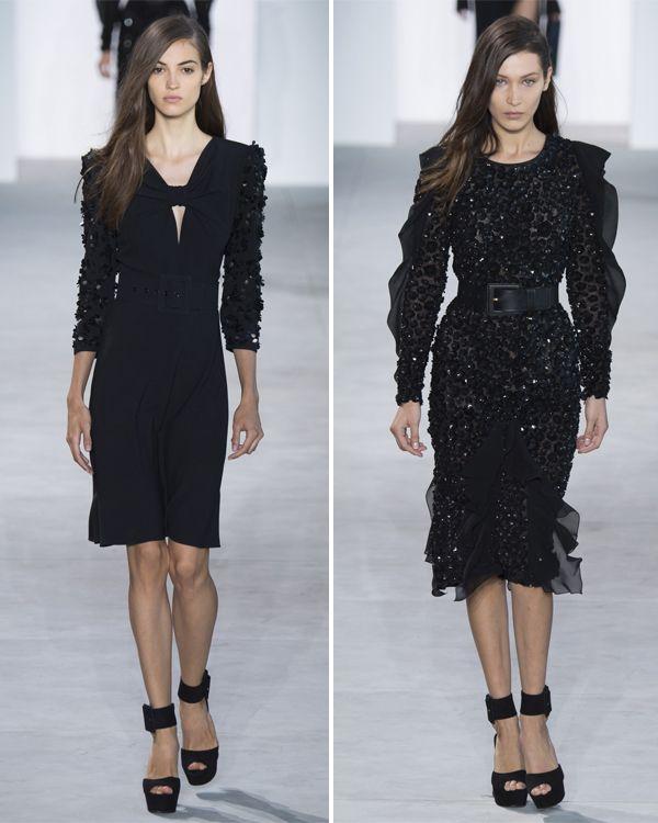 Маленькие черные платья из весенне-летней коллекции Майк Корс 2017