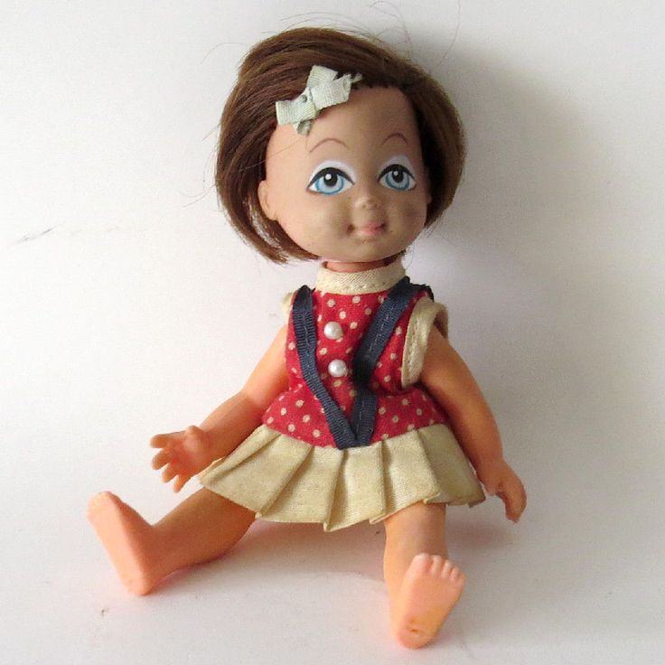 Rare VINTAGE DOLL MADE IN HONG KONG Yes No Nodding Doll. Patent pending #53458