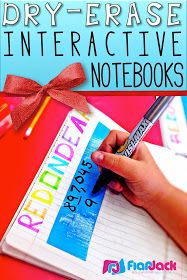 FlapJack Educational Resources: Bright Ideas: Dry-Erase Interactive Notebooks