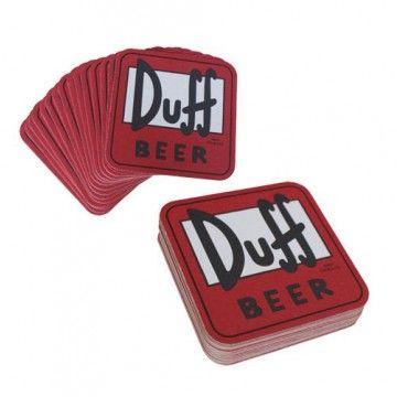 Duff Beer, 15 posavasos - Tienda de regalos originales QueLoVendan.com