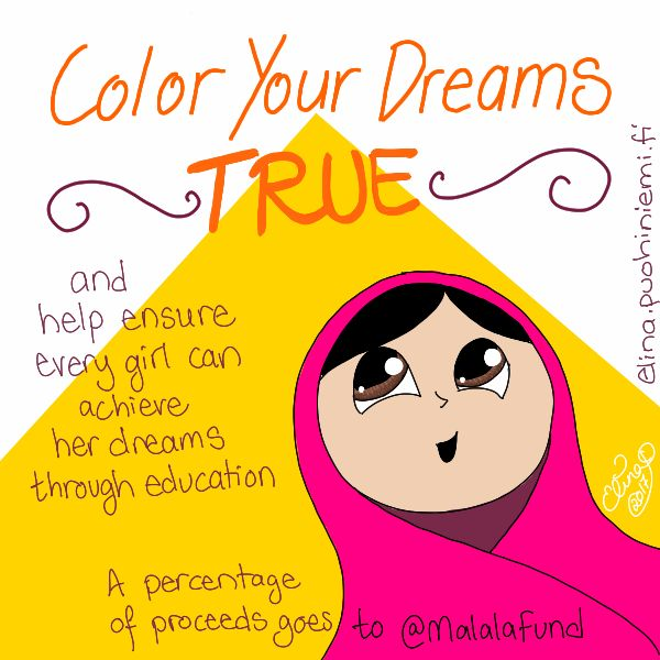 Color Your Dreams True - Elina Puohiniemi
