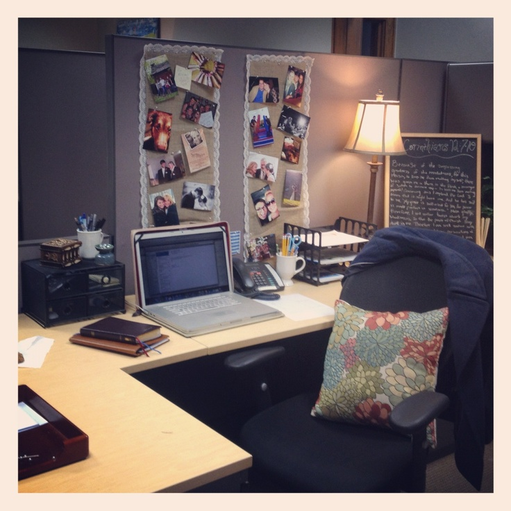 135 best images about cubicle makeover on Pinterest  Office