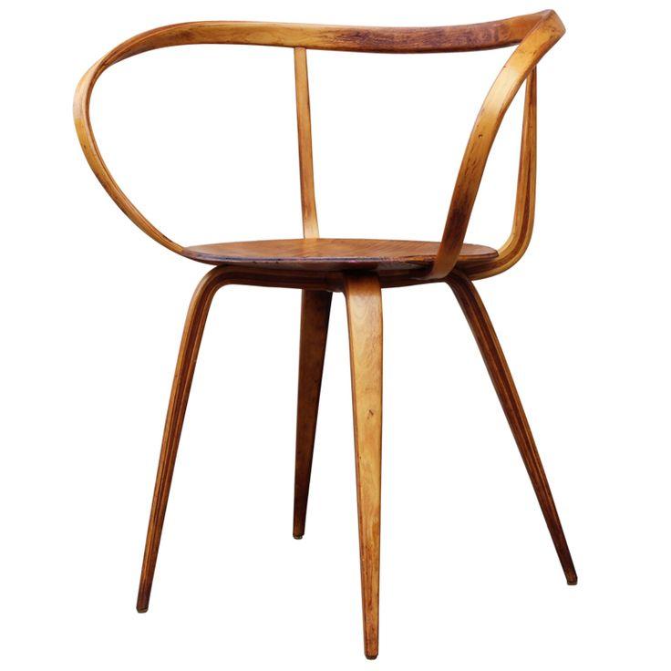 Chaise design et bois