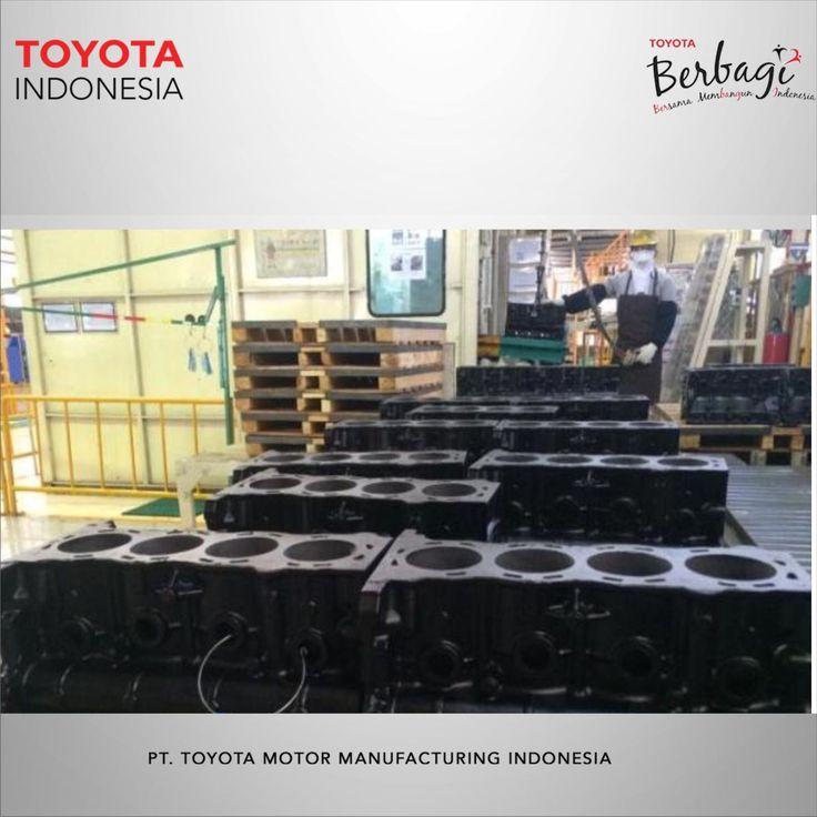 Di Pabrik Sunter 1 dan Sunter 2 ini lah bahan baku dan komponen utama dari mesin Toyota Innova dan Fortuner dibuat nih Teman TMMIN. #infoTMMIN #TMMINinspirasi  Here in Plant 1 Sunter and Plant 2 Sunter is where the raw materials and major components of Toyota Innova and Fortuner engine has been made Teman TMMIN. #infoTMMIN #TMMINinspirasi