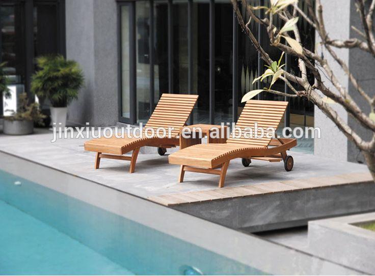 Grado A de la teca muebles de exterior JX-2030