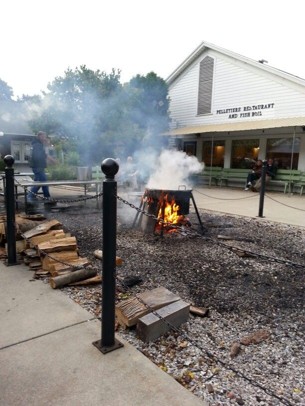 573 best around lake michigan wi mi images on pinterest for Door county fish boil