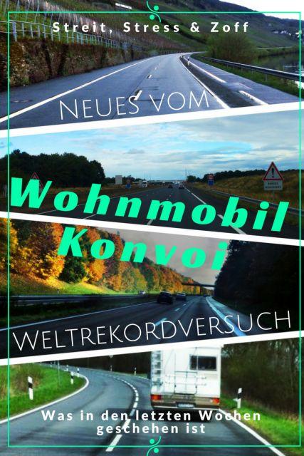 Neues vom Wohnmobil Konvoi Weltrekordversuch. Die Aktuelle Lage und Hintergründe zum Weltrekord in Walldürn