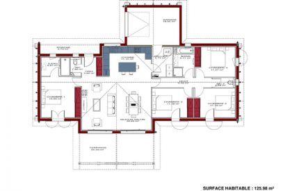 Plan de maison régionale Maison Basque | Maisons | Pinterest | House ...