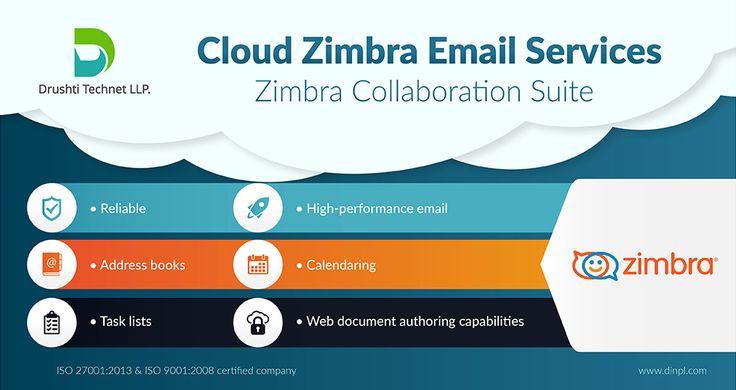 Drushti Technet LLP - #Zimbra #Mailing Solution http://www.dinpl.com/zimbra/