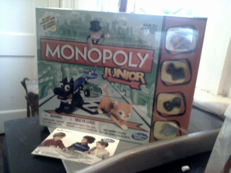 Hasbro #GameNight Monopoly Junior, received complimentary for testing purposes from Influenster!