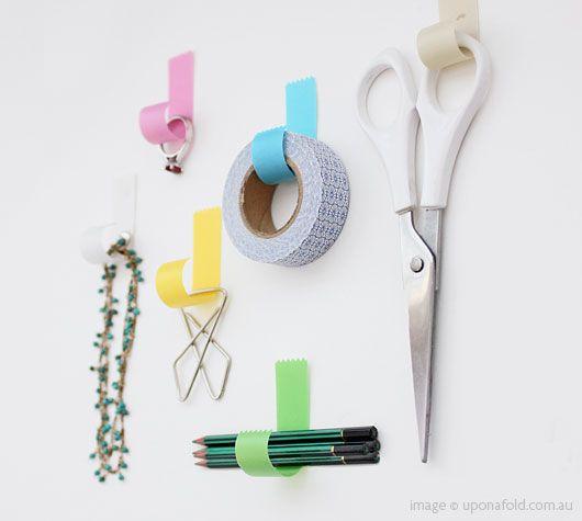 TAPEHOOK: Dorm Room, Cute Ideas, Organizations, Taps, Tape Hooks, Thankstapehook Accessories, Masks Tape, Washi Tape, Design