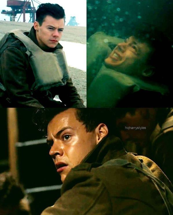 Very exited to see Harry in Dunkirk! P.s. let's not forget that this film is to honour and tell the story of the brave individuals who fought for what they love.