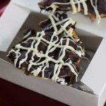 Peanut Butter Filled Pretzel Bark - Cookie Madness