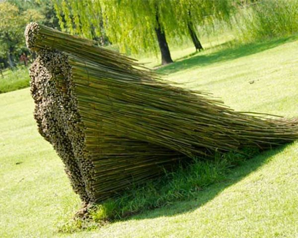 Land Art by Olga Ziemska, a sculptor hailing from Cleveland, Ohio.